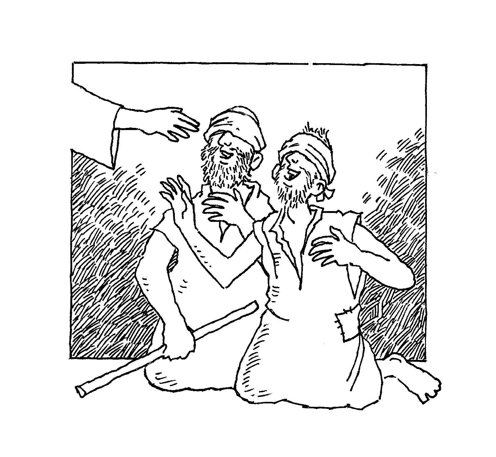10 Jesus Heals the Deaf Man Coloring Page   Thousand of ...